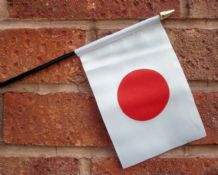 HAND WAVING FLAG (SMALL) - Japan